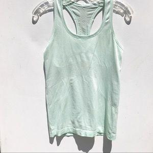 LULULEMON Swiftly tech green shirt 6 tank top